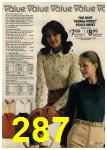 1980 Sears Fall Winter Catalog, Page 287