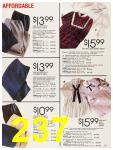 1987 Sears Fall Winter Catalog, Page 237