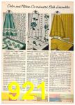 1958 Sears Fall Winter Catalog, Page 921
