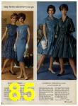 1962 Sears Spring Summer Catalog, Page 85
