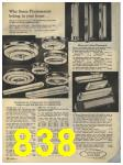 1965 Sears Fall Winter Catalog, Page 838