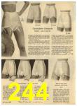 1960 Sears Spring Summer Catalog, Page 244