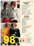 1973 Sears Fall Winter Catalog, Page 98
