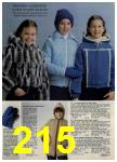 1980 Sears Fall Winter Catalog, Page 215