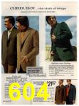 1972 Sears Fall Winter Catalog, Page 604