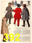 1956 Sears Fall Winter Catalog, Page 392