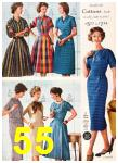 1958 Sears Fall Winter Catalog, Page 55