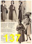 1960 Sears Fall Winter Catalog, Page 137