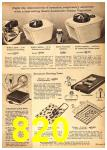 1962 Sears Fall Winter Catalog, Page 820