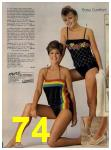 1984 Sears Spring Summer Catalog, Page 74