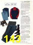 1971 Sears Fall Winter Catalog, Page 143