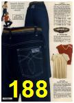 1980 Sears Fall Winter Catalog, Page 188