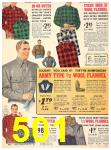 1940 Sears Fall Winter Catalog, Page 501