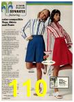 1974 Sears Spring Summer Catalog, Page 110