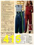 1981 Sears Spring Summer Catalog, Page 415