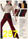 1971 Sears Fall Winter Catalog, Page 257