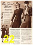 1940 Sears Fall Winter Catalog, Page 22