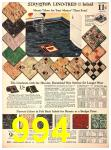 1940 Sears Fall Winter Catalog, Page 994