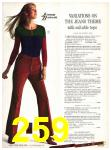 1971 Sears Fall Winter Catalog, Page 259