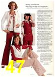 1975 Sears Spring Summer Catalog, Page 47