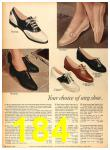 1958 Sears Fall Winter Catalog, Page 184
