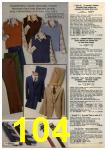 1980 Sears Fall Winter Catalog, Page 104