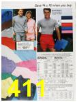 1987 Sears Spring Summer Catalog, Page 411