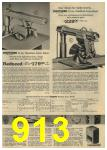 1961 Sears Spring Summer Catalog, Page 913
