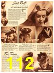 1940 Sears Fall Winter Catalog, Page 112