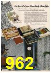 1961 Sears Spring Summer Catalog, Page 962