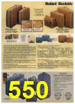 1980 Sears Fall Winter Catalog, Page 550