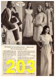 1972 Montgomery Ward Spring Summer Catalog, Page 203