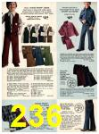 1973 Sears Fall Winter Catalog, Page 236