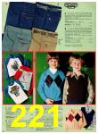 1981 JCPenney Christmas Book, Page 221
