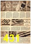 1949 Sears Spring Summer Catalog, Page 431