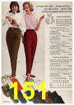 1963 Sears Fall Winter Catalog, Page 151