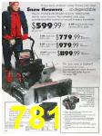1989 Sears Home Annual Catalog, Page 781
