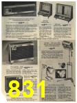1965 Sears Fall Winter Catalog, Page 831