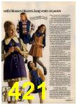 1972 Sears Fall Winter Catalog, Page 421