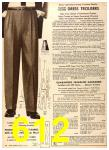 1956 Sears Fall Winter Catalog, Page 612
