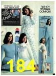 1977 Sears Fall Winter Catalog, Page 184