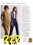 1971 Sears Fall Winter Catalog, Page 227