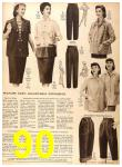 1956 Sears Fall Winter Catalog, Page 90