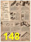 1952 Sears Christmas Book, Page 148