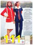 1972 Sears Spring Summer Catalog, Page 111