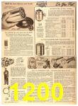 1956 Sears Fall Winter Catalog, Page 1200