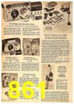1962 Sears Fall Winter Catalog, Page 861