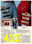 1980 Sears Spring Summer Catalog, Page 422
