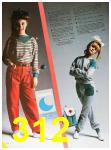 1985 Sears Fall Winter Catalog, Page 312
