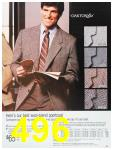 1987 Sears Fall Winter Catalog, Page 496